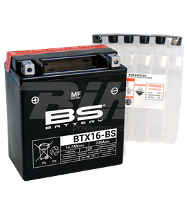 BATERÍA BS BATTERY BTX16-BS
