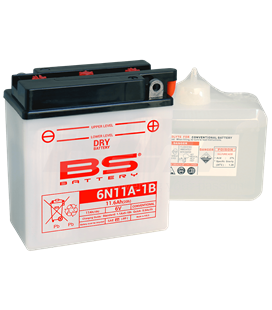 BATERÍA BS BATTERY 6N11A-1B
