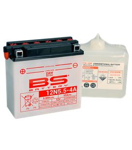BATERÍA BS BATTERY 12N5.5-4A