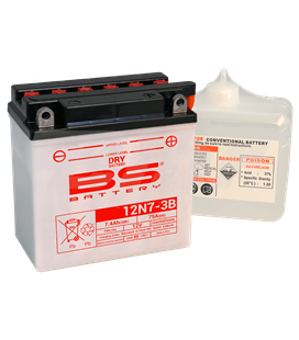 BATERÍA BS BATTERY 12N7-3B