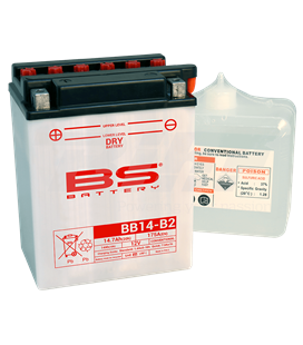 BATERÍA BS BATTERY YB14-B2 (FRESH PACK)