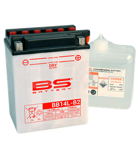 BATERÍA BS BATTERY YB14L-B2 (FRESH PACK)