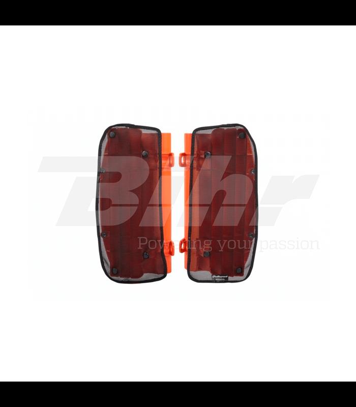 Rejilla anti barro para aletines de radiador polisport honda 8984000001 accesorios off road - Rejillas de barro ...