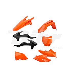 KIT PLÁSTICA COMPLETO POLISPORT KTM COLOR ORIGINAL 90707