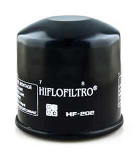 KAWASAKI EN 450 (454LTD) (85-90) FILTRO ACEITE HIFLOFILTRO