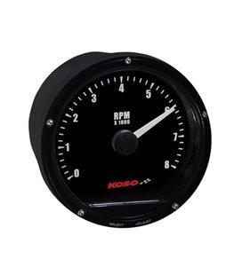 CUENTA RPM UNIVERSAL KOSO D75 MAX. 8000RPM HOMOLOGADO