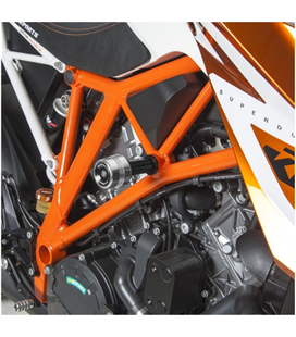 KTM 1290 SUPER DUKE 13-16 PROTECTORES ANTICAIDAS BARRACUDA