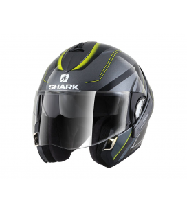 SHARK EVOLINE 3 HYRIUM ANTRACITA NEGRO AMARILLO