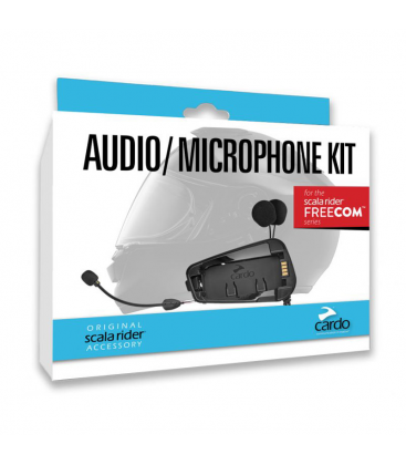 KIT AUDIO CARDO FREECOM SERIES