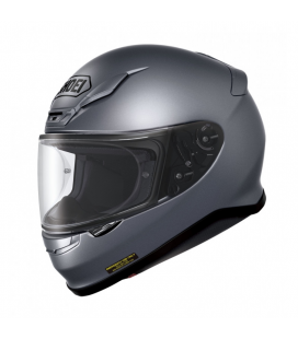 CASCO SHOEI NXR GRIS PLATA