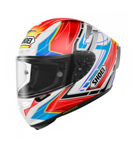 CASCO SHOEI X-SPIRIT 3 ASSAIL TC10