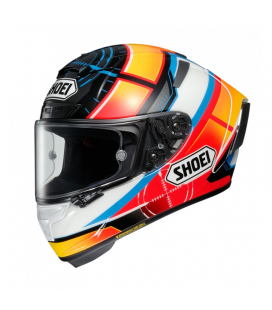CASCO SHOEI X-SPIRIT 3 DE ANGELIS TC1