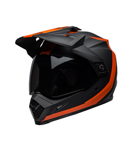 MX-9 ADVENTURE MIPS SWITCHBACK MATTE BLACK/FLO ORANGE