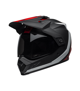 MX-9 ADVENTURE MIPS SWITCHBACK MATTE BLACK/RED/WHITE