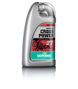 ACEITE MOTOREX CROSS POWER 2T (1 LITRO)