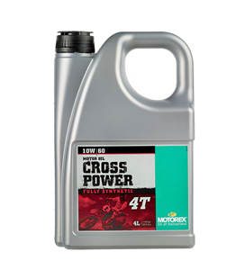 ACEITE MOTOREX CROSS POWER 4T 10W60 (4 LITROS)