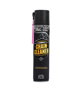 LIMPIADOR DE CADENA MUC-OFF MOTORCYCLE CHAIN CLEANER SPRAY 400ML