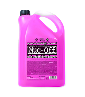 LIMPIADOR MUC-OFF NANO GEL BIKE CLEANER GARRAFA 5L