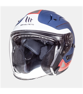 CASCO MT AVENUE SV CROSSROAD AZUL/BLANCO PERLA/ROJO MATE