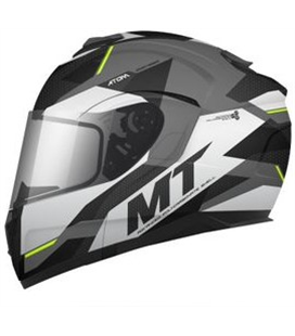 CASCO MT ATOM SV TRANSCEND E2 GRIS BRILLO Y MATE