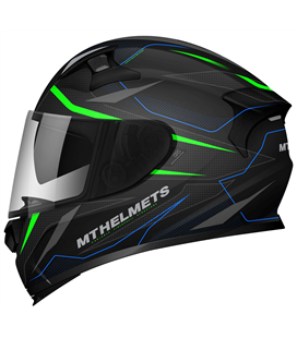 CASCO MT KRE SV INTREPID C1 VERDE FLUOR MATE
