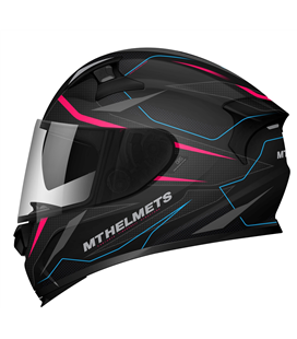 CASCO MT KRE SV INTREPID C2 ROSA FLUOR MATE