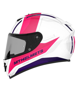 CASCO MT RAPIDE KID DUEL H9 ROSA PERLA BRILLO
