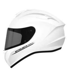CASCO MT TARGO SOLID A0 BLANCO PERLA BRILLO