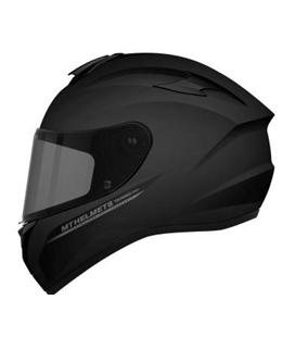 CASCO MT TARGO SOLID A1 NEGRO BRILLO