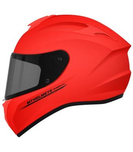 CASCO MT TARGO SOLID A5 ROJO MATE