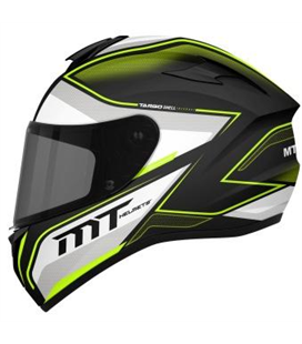 CASCO MT TARGO INTERACT A4 AMARILLO FLUOR PERLA BRILLO