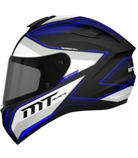 CASCO MT TARGO INTERACT A6 AZUL PERLA BRILLO