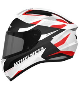 CASCO MT TARGO ENJOY D5 ROJO PERLA BRILLO