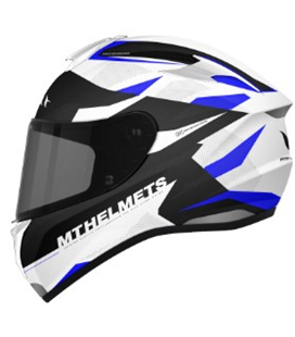 CASCO MT TARGO ENJOY D7 AZUL PERLA BRILLO