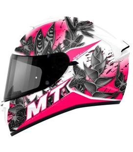 CASCO MT BLADE 2 SV BREEZE D8 ROSA PERLA BRILLO