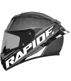 CASCO MT RAPIDE PRO CARBON C2 GRIS BRILLO