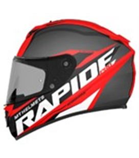 CASCO MT RAPIDE PRO CARBON C5 ROJO BRILLO