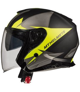 CASCO MT THUNDER 3 SV JET WING C4 AMARILLO FLUOR MATE