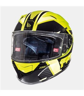 CASCO MT KRE SV RAD AMARILLO FLUOR/ANTRACITA BRILLO