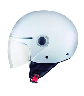 CASCO MT STREET SOLID BLANCO BRILLO