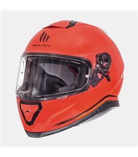 CASCO MT THUNDER 3 SV SOLID NARANJA FLUOR BRILLO