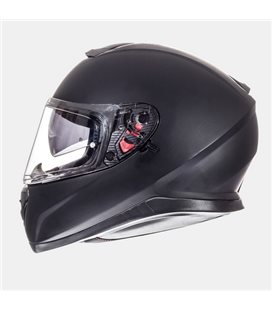 CASCO MT THUNDER 3 SV SOLID NEGRO MATE