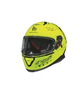 CASCO MT THUNDER 3 SV BOARD A0 AMARILLO FLUOR BRILLO