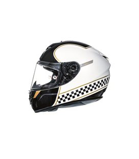 CASCO MT RAPIDE REVIVAL B1 BLANCO PERLA BRILLO