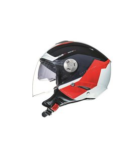 CASCO MT CITY ELEVEN SV SPARK C1 ROJO PERLA BRILLO