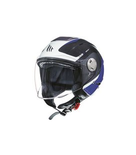 CASCO MT CITY ELEVEN SV SPARK C2 AZUL PERLA BRILLO