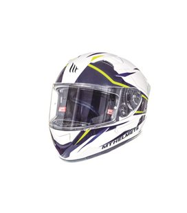 CASCO MT KRE SV INTREPID B3 AMARILLO FLUOR PERLA BRILLO