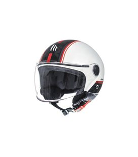CASCO MT STREET ENTIRE D1 ROJO PERLA BRILLO
