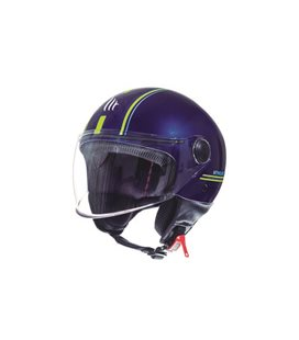 CASCO MT STREET ENTIRE J2 AMARILLO FLUOR BRILLO