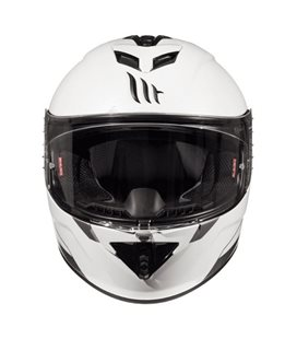 CASCO MT RAPIDE SOLID A0 BLANCO PERLA BRILLO